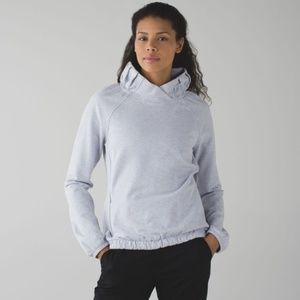 LULULEMON After All Pullover Cool Breeze Gray {L4}